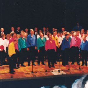 Concert Chantesource avec les Bayards 1994