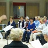 Soprani en répétition